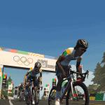 Olympic Virtual Series: Chase Race (Flatland Loop)